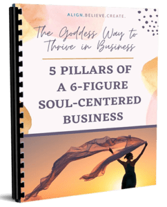 Simplify your coaching or spiritual business by focusing on these 5 pillars to 6-figure success