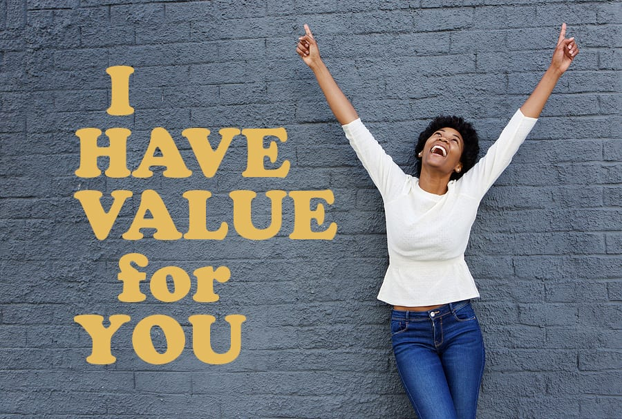 Having 6-figure business requires more than standing in your value